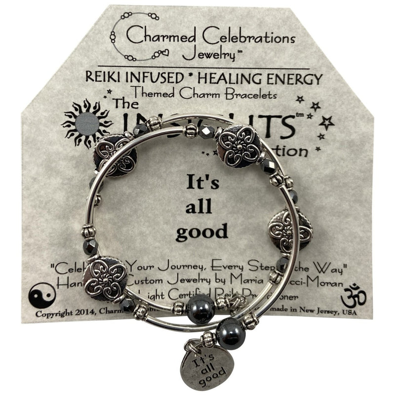 Reiki Infused Insight Bracelet: It's all good - East Meets West USA