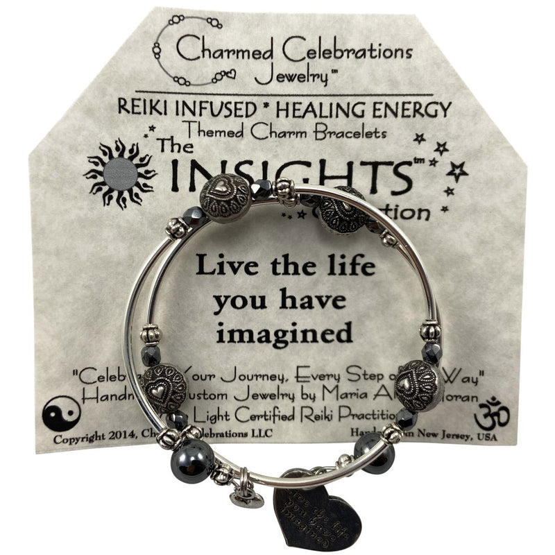 Reiki Infused Insight Bracelet: Live the Life you have Imagined - East Meets West USA
