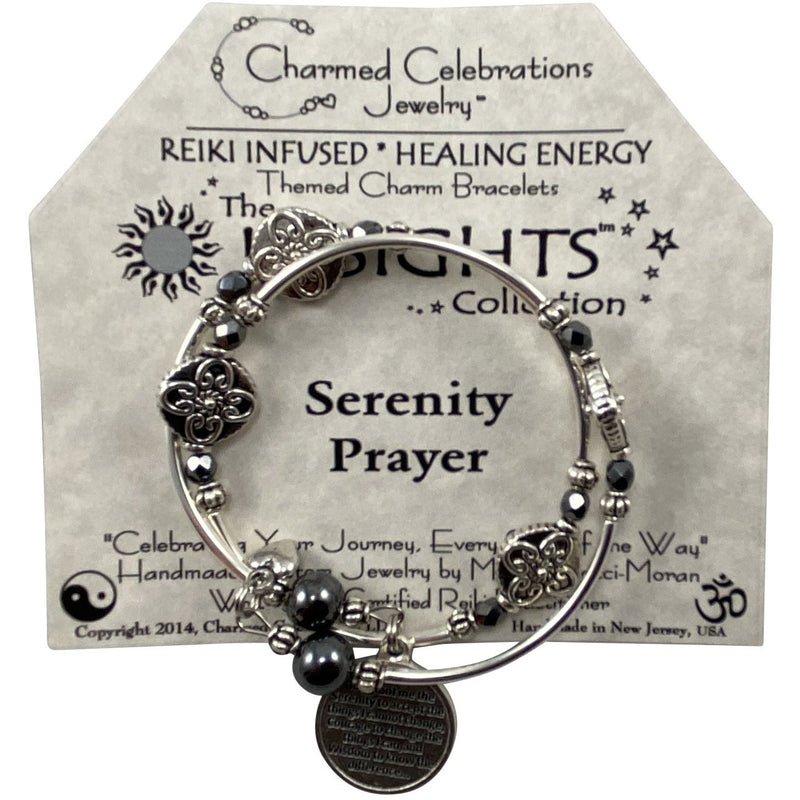 Reiki Infused Insight Bracelet: Serenity Prayer - East Meets West USA