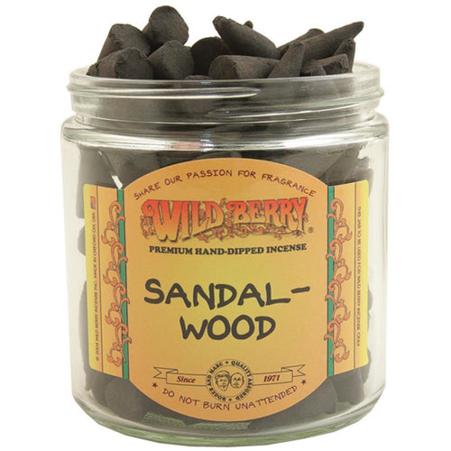 Sandalwood Incense Cones - East Meets West USA
