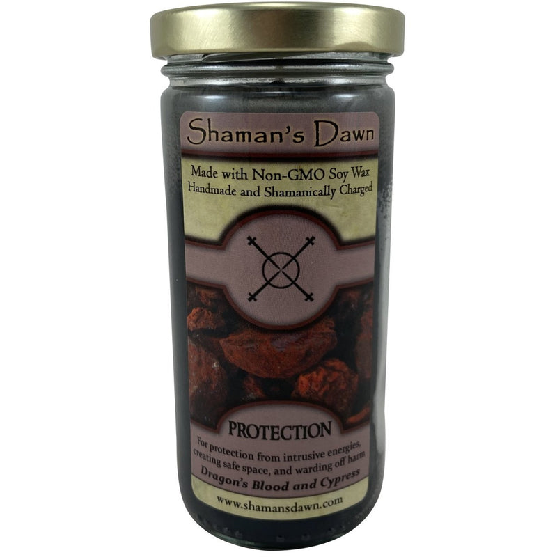 Shaman's Dawn Candles: Protection - East Meets West USA