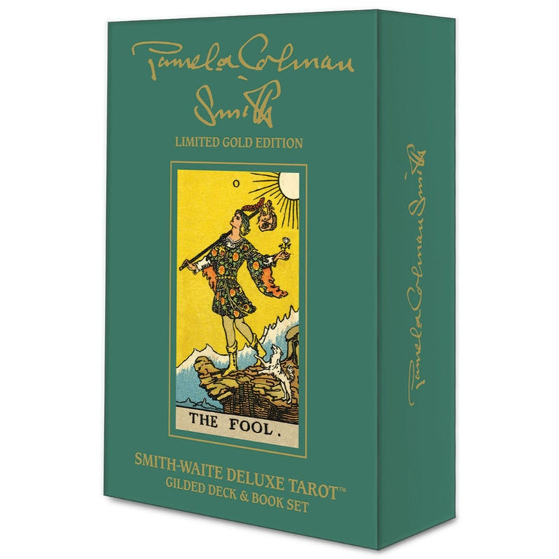 Smith-Waite Deluxe Tarot: Gilded Deck & Book Set - East Meets West USA