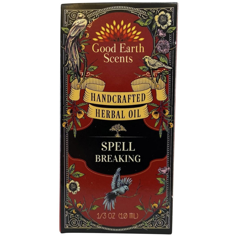 Spell Breaking Handcrafted Herbal Oil - East Meets West USA