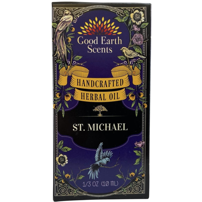St. Michael Handcrafted Herbal Oil - East Meets West USA