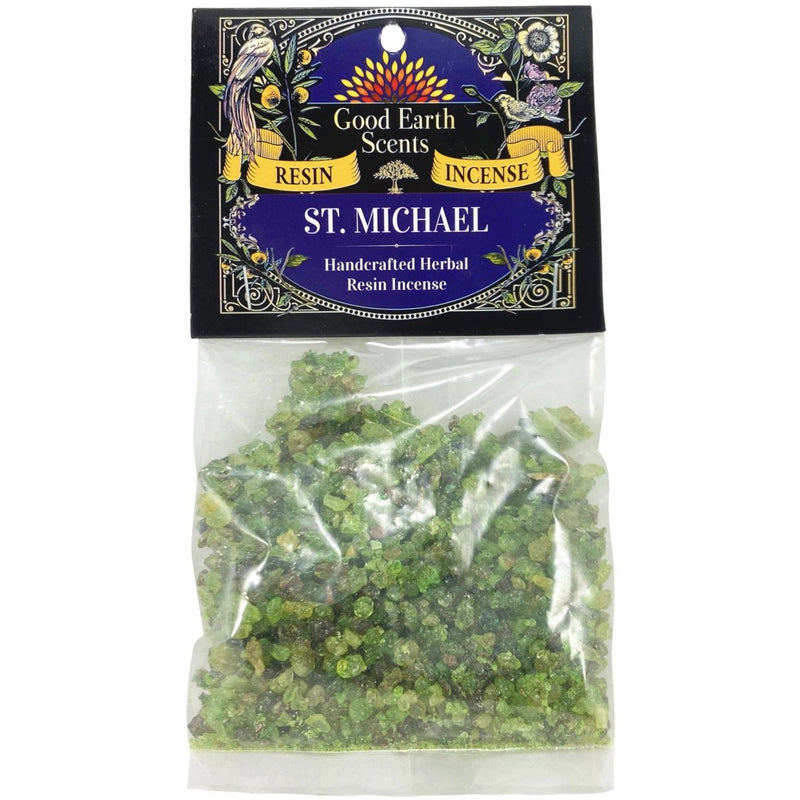St. Michael Resin Incense - East Meets West USA