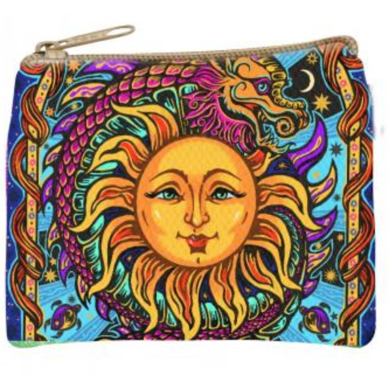 Sun Dragon Coin Purse - East Meets West USA