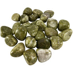 Tumbled Epidote - East Meets West USA
