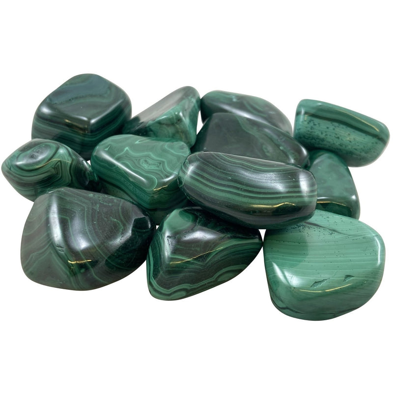 Tumbled Malachite - East Meets West USA