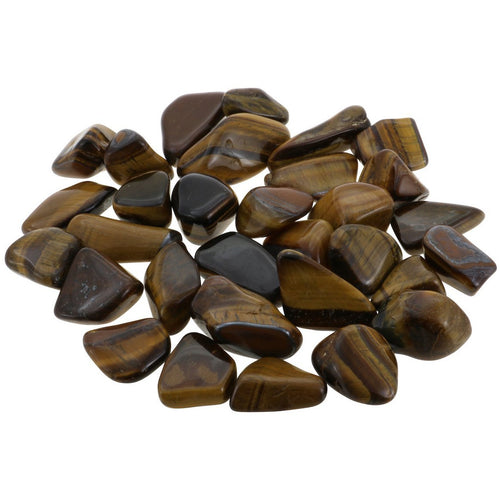 Tumbled Tiger's Eye - East Meets West USA