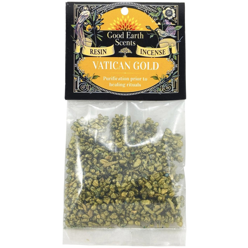 Vatican Gold Resin Incense - East Meets West USA