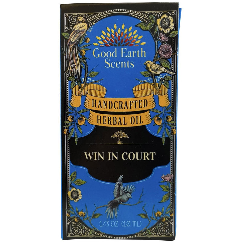 Win In Court Handcrafted Herbal Oil - East Meets West USA