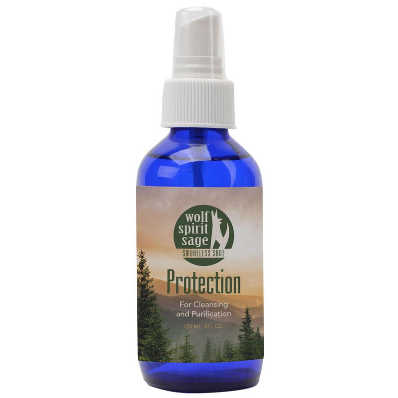Wolf Spirit Sage Protection Room Spray - East Meets West USA