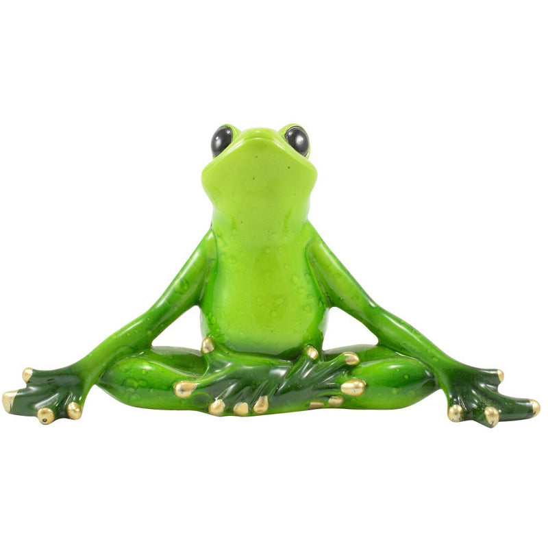 Yoga Frog Figurine - East Meets West USA