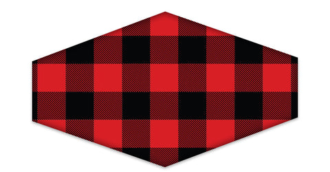 0434 Plaid Red