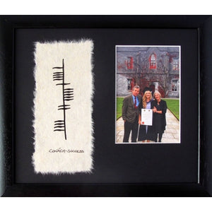 Ogham wish Success with Photo