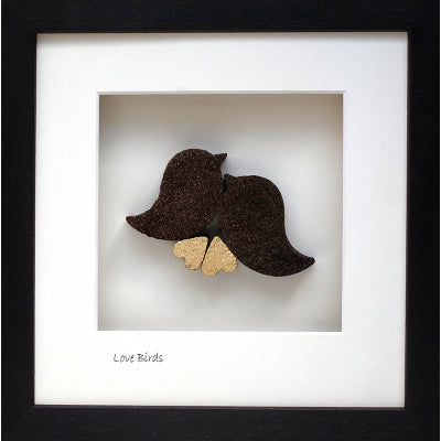 Bog Buddies Love Birds Square Frame