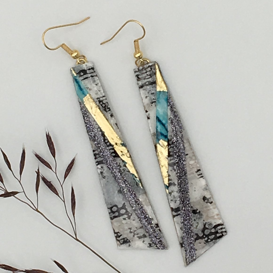 Aubrey Textile earrings