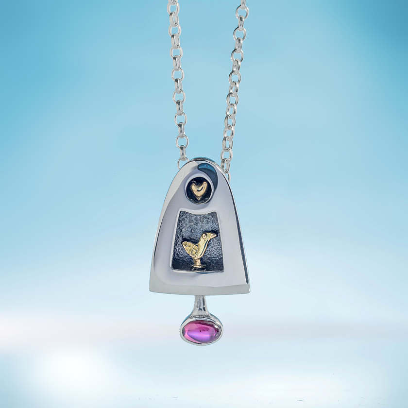 Alan Ardiff Love Bird Pendant
