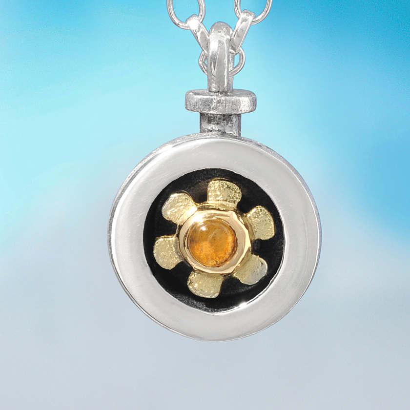 Alan ardiff little flower pendant