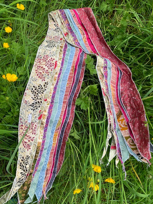 Recycled Silk Scarf