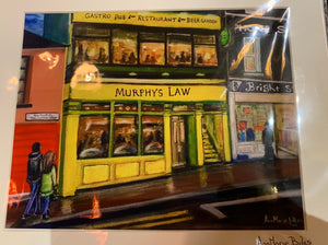 Murphys Law  , Athlone , Print by Anna Boles