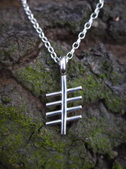 Ogham Treasure Initial Z