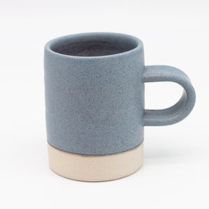 John Ryan Stoneware mug -light grey