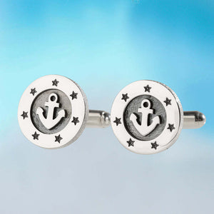 Anchors Away Cufflinks