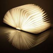 mini Book light linen cover