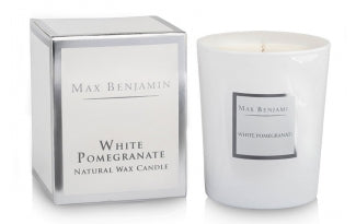 Max Benjamin, White Pomegranate Candle