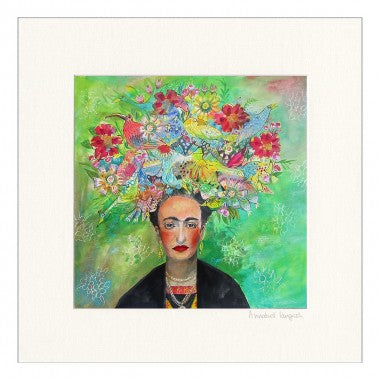 Frida Khalo  Framed Print on Canvas