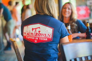 Navy Tapped in Texas T-Shirt