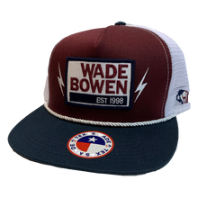 Load image into Gallery viewer, Maroon Hooey Wade Bowen Hat