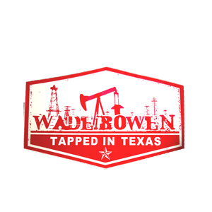 Tapped in Texas Sticker