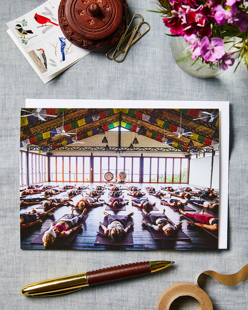 Load image into Gallery viewer, VIKASA Yoga Group Savasana with Gong Bath