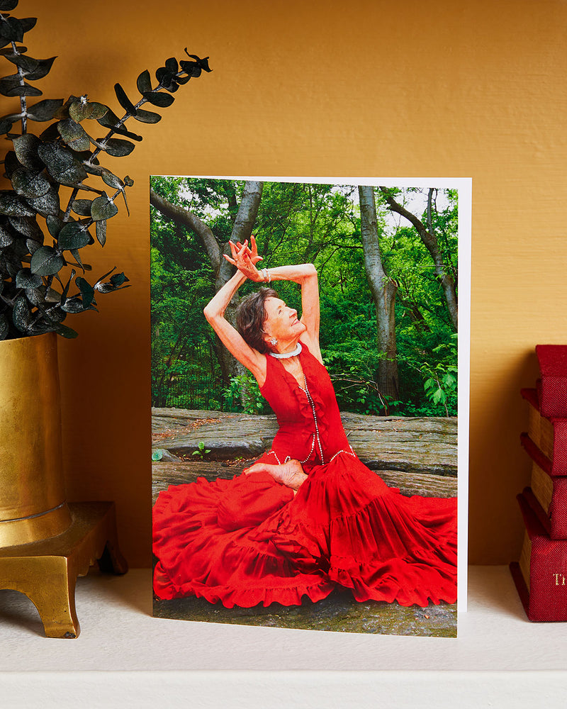 Load image into Gallery viewer, Tao Porchon-Lynch Red Dress