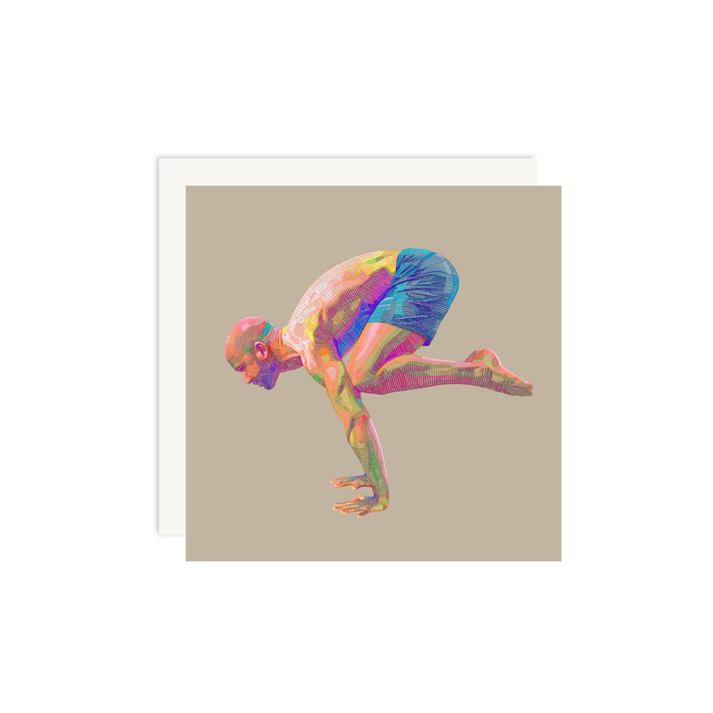 Load image into Gallery viewer, Lui Ferreyra Crane Pose