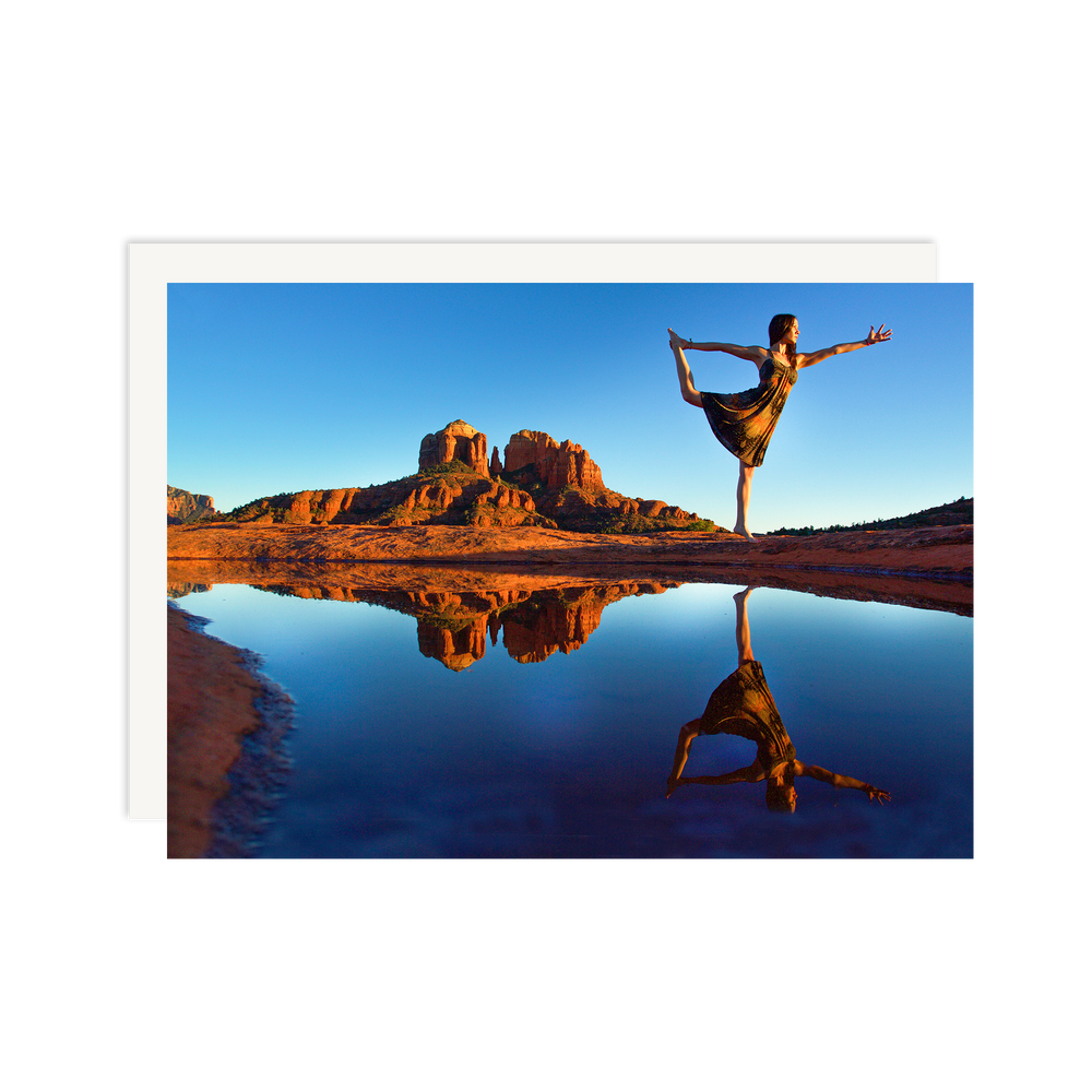 Sedona Dancer Pose