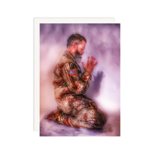 Load image into Gallery viewer, Military Kneeling Prayer Pose