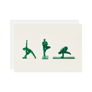 Load image into Gallery viewer, 3 Yoga Joes: Yoga Jane, Tree Pose, Crow Pose