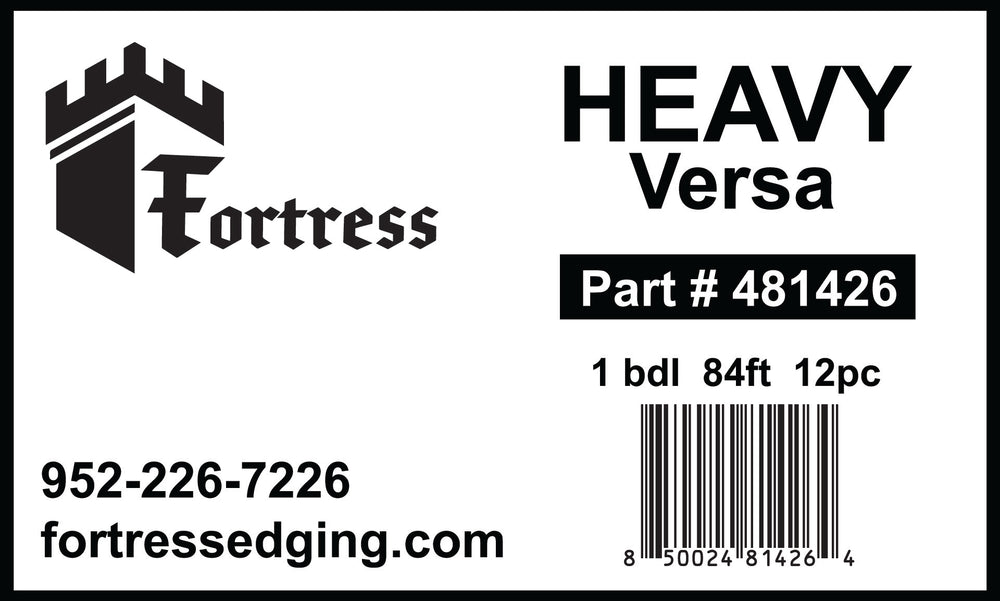 HEAVY Versa 1 bdl 84ft 12pc
