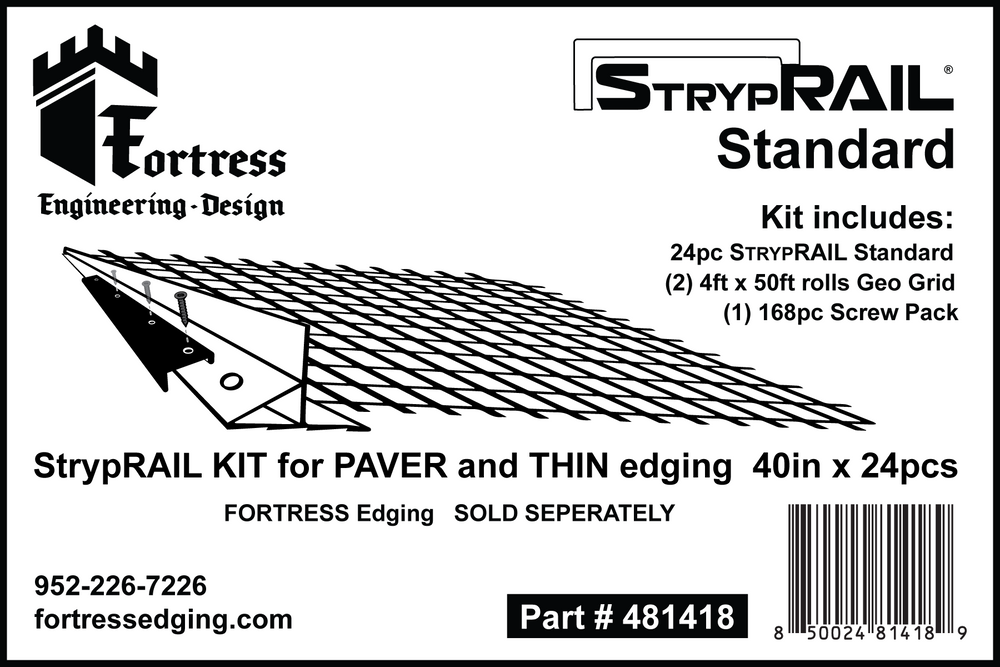StrypRAIL Standard Kit 84 Feet