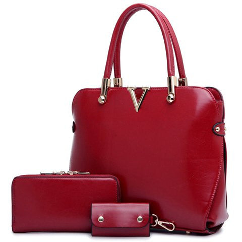 Scarlett Three Piece Handbag Set
