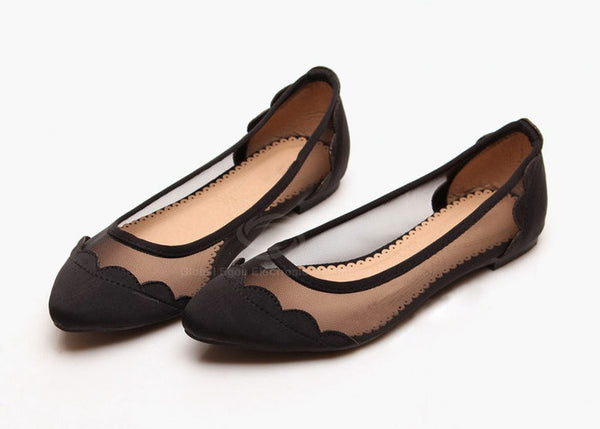 Now You See Me Ballet Flats