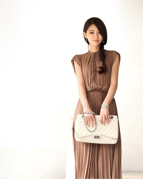 Anne Chiffon Maxi Dress