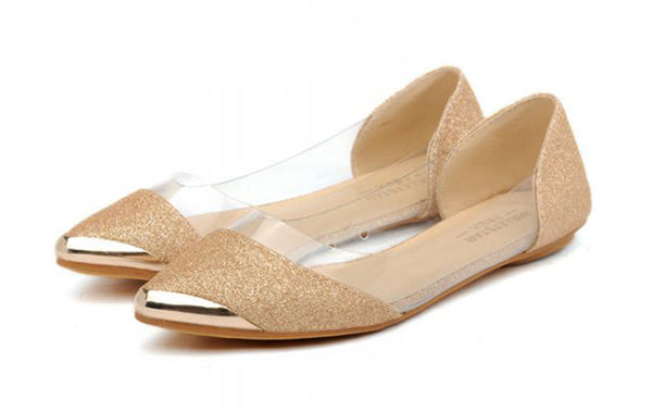 All That Glitters Sequin Ballet Flat