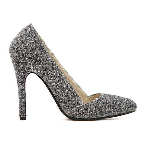 Women's Pumps With Pointed Toe and Stiletto Design