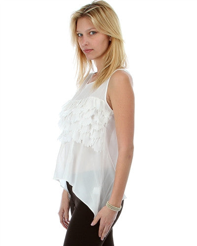 Paris Chiffon Sleeveless Blouse