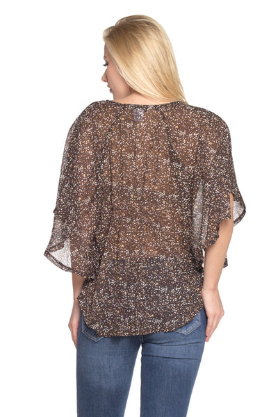 Women's Printed Chiffon Blouse