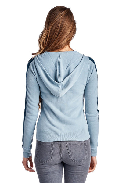 Women's Sweater Knit Zip Up Hoody